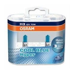 Osram Cool Blue Hyper Duo H3 Lampadine per Auto