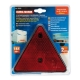 Catarifrangenti triangolari - Rosso - 150x130 mm