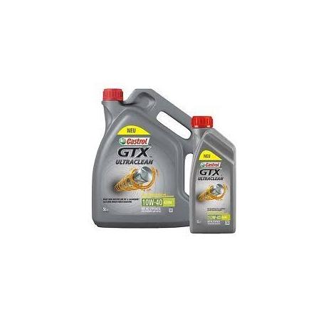 Olio Motore Castrol GTX UltraClean 10W-40 A3/B4 5 Lt
