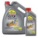 Olio Motore Castrol GTX Ultra Clean 10W-40 A3/B4 5 Lt