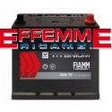 Batteria Fiamm Black Titanium 35 Ah senza Bordo SX