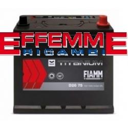 Batteria Fiamm Black Titanium 35 Ah senza Bordo DX