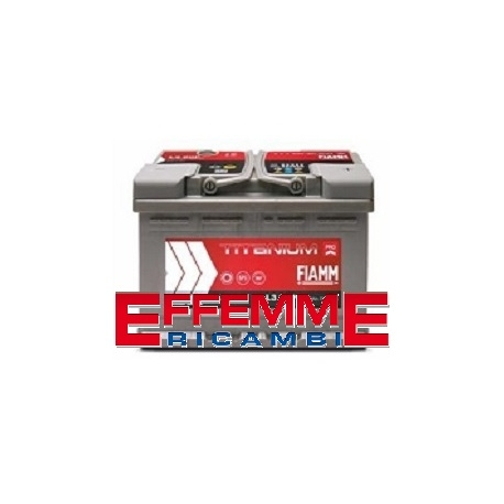 Batteria Fiamm Titanium Pro 100 Ah Bassa DX