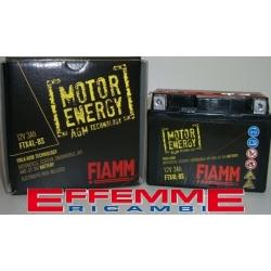 Batteria Fiamm AGM Tecnology FTX4L-BS 12V 3Ah 40A