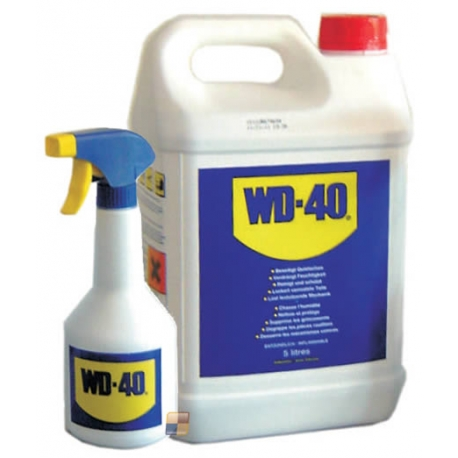 Lubrificante Liquido WD40 con Pompetta Lt 5