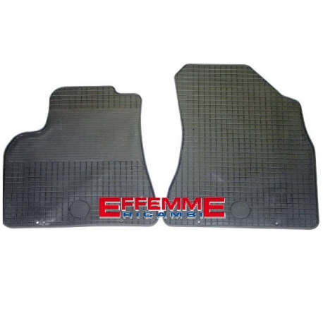Kit di Tappeti in Gomma per Citroen Berlingo van 2 pz