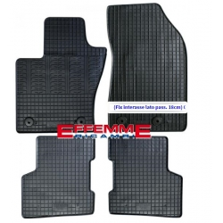 Kit di Tappeti in Gomma per Jeep Renegade (interasse lato pass. 18cm)