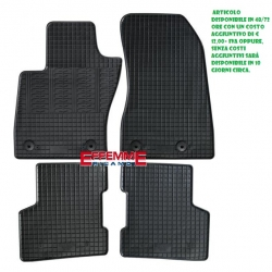 Kit di Tappeti in Gomma per Jeep Renegade (interasse lato pass. 20cm)