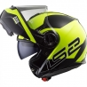 Casco Modulare LS2 FF325 STROBE ZONE Black H-V Yellow