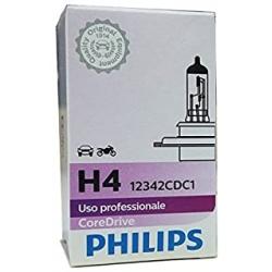 Philips Coredrive H4 Standard 55W 12V PX26d Lampada alogena