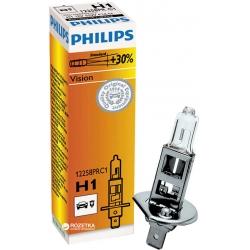 Philips H1 Vision 55 W 12 V P14.5s Lampada alogena