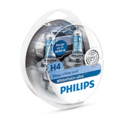 Philips White Vision H4 12 V 60/55 W lampadina fari auto