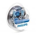Philips White Vision Ultra H4 12 V 60/55 W lampadina fari auto
