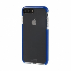 Cover Alpha-Guard IPHONE 7 Plus Trasparente-Blu