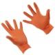 Guanti in nitrile arancione