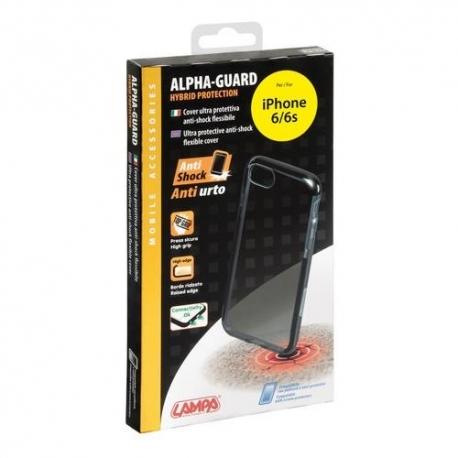Cover Alpha-Guard IPHONE 6/6S Nero-Nero