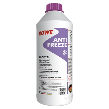 Anti Freeze Rosso Concentrato Rowe lt1,5