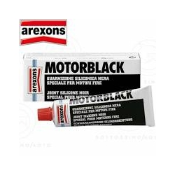 Guarnizione Siliconica Motorblack Nera Arexons ml 60