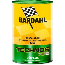 Olio Motore Bardahl Technos 5W-40 Xsf C3 LT1