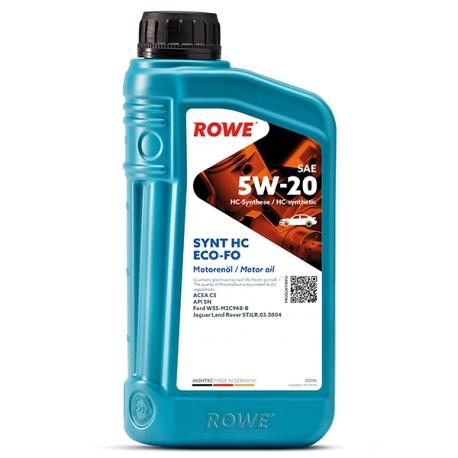 Olio Motore Rowe HIGHTEC SYNT HC ECO-FO SAE 5W-20