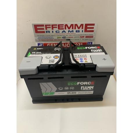 Batteria Fiamm EcoForce VR 800 80 Ah DX