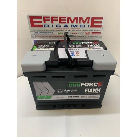 Batteria Fiamm EcoForce VR680 60 Ah DX