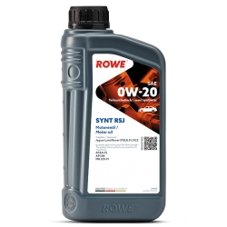 Olio Motore Rowe HIGHTEC SYNT RSJ SAE 0W-20 LT1