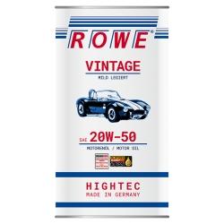 Olio Motore Rowe 20w50 VINTAGE Litri5