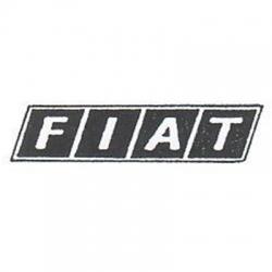 Scritta Anteriore Fiat 500 126