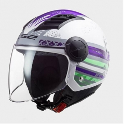 Casco LS2 OF562 Airflow RONNIE GLOSS TITANIUM VIOLET