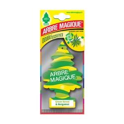 Deodorante Auto Arbre Magique Green Forest E Bergamot