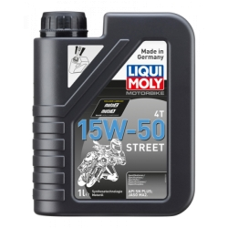Olio Motore Liqui Moly 15W50 Street Lt 1