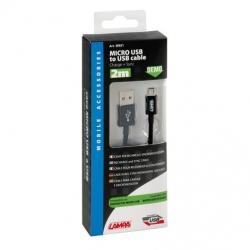 Cavo Dati, Ricarica Micro USB 2MT
