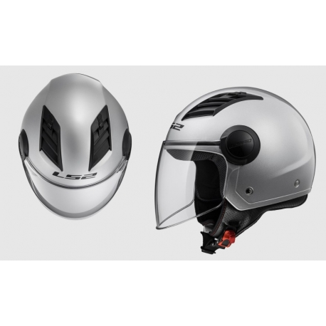 Casco LS2 OF562 Airflow (GLOSS SILVER)