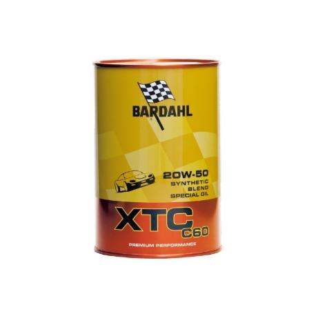 Olio Motore Bardahl 20W-50 XTC C60 Lt1