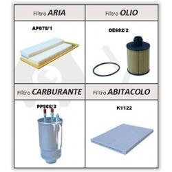 Kit Filtri Fiat 500 II Euro5 1.3 Mjet, Panda II (169) Euro5 1.3 Mjet