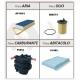 Kit Filtri Citroen C2, C3, C3 Pluriel - Peugeot 1007 1.4 HDI