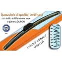 """Spazzola tergi """"NO RAIN 12"""" mm 630 in scatola universale"""