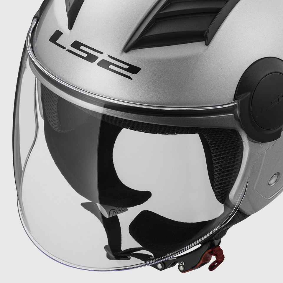 Casco LS2 OF562 Airflow (GLOSS WHITE)