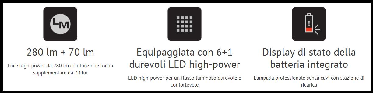 Lampada LEDinspect Pro Slimline 280 Osram